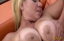 Teen and GILF taste pussy and ass