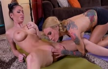 Sarah Jessie and Jessica Jaymes