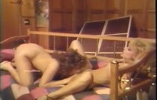 Nina and friends in hot vintage scene