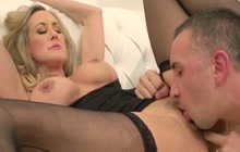 Hot squirting MILF Brandi Love gets fucked
