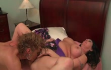 Hot Mature Lesbians Taste Each Other's Cunts