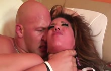 Hot ass girl pounded hard